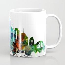 Colorful Cincinnati skyline Coffee Mug