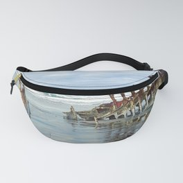 Peter Iredale Shipwreck: Astoria, OR Fanny Pack