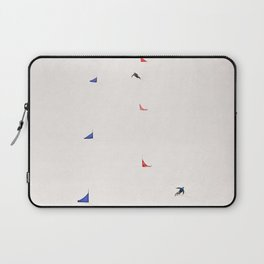 i'd rather be skiing Laptop Sleeve