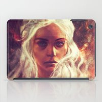dragon ball z iPad Cases featuring Fireheart by Alice X. Zhang