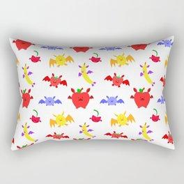 Fruit Bats Pattern Rectangular Pillow