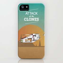 Attack of the Clones iPhone Case