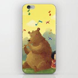 Friend Bear iPhone Skin