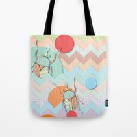 insect Tote Bags featuring Insect VI by dogooder