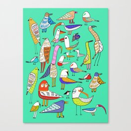 Tweet Tweet Tweet. Canvas Print