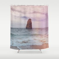 alone Shower Curtains featuring alone  by Julia Kovtunyak