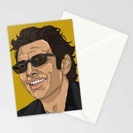 Jeff in Yellow Stationery Cards