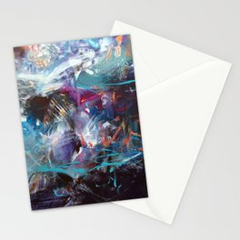 The nordic whale song 1 Stationery Cards