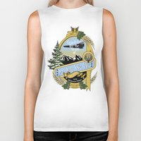 ale giorgini Biker Tanks featuring So Say We Ale by Geekleetist