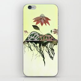 Uprooted Flowers iPhone Skin