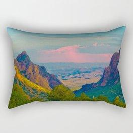 Chisos Mountain Park Big Bend Texas Rectangular Pillow
