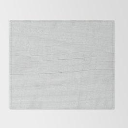 Gray Weathered Wood Throw Blanket