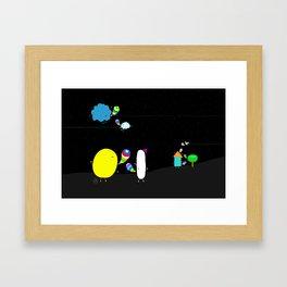 say beautiful things Framed Art Print