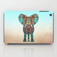 ornate elephant iPad Cases featuring ElePHANT by Monika Strigel
