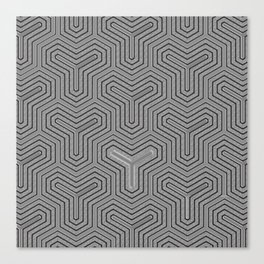 Odd one out Geometric Canvas Print