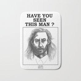 Have you seen this man ? Bob Twin Peaks Bath Mat