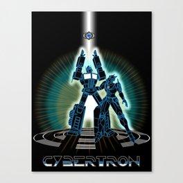 CyberTRON (G1 Optimus Prime Transformers TRON)  Canvas Print