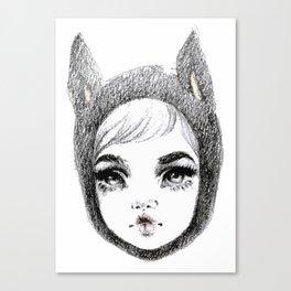Cat burglar Canvas Print
