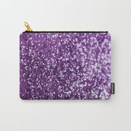 Purple Glitter #1 #decor #art #society6 Carry-All Pouch