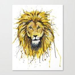 Lionish Canvas Print