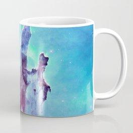 Aqua Turquoise Lavender Galaxy Coffee Mug