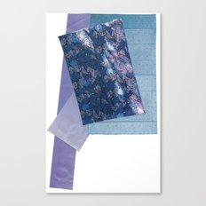 indigo ferns Canvas Print