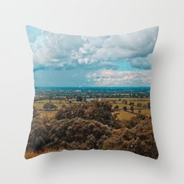 Somewhere in the Lake District, England Throw Pillow