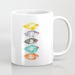 Watercolor Birds (5 colors) Coffee Mug