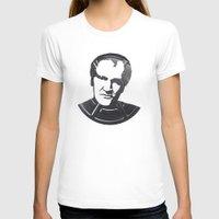 tarantino T-shirts featuring Quentin Tarantino by Alejandro de Antonio Fernández