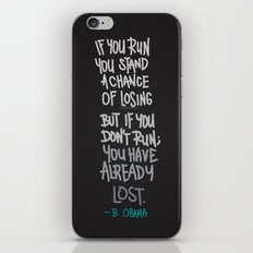 RUN iPhone & iPod Skin