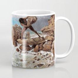 Odysseus And Polyphemus - Arnold Bocklin Coffee Mug