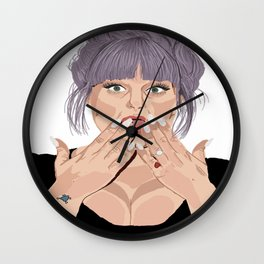kelly Wall Clock