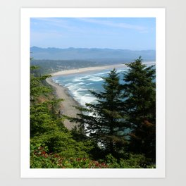 An Endless Costal View Art Print