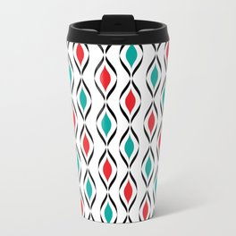 Retro Fun Pattern Travel Mug