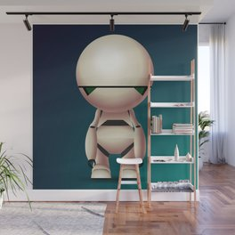Marvin the Paranoid Android Wall Mural