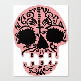 Sweet sugar skull Canvas Print
