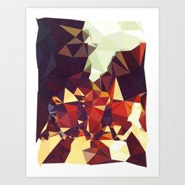 Abbey Road Geometric Art Print