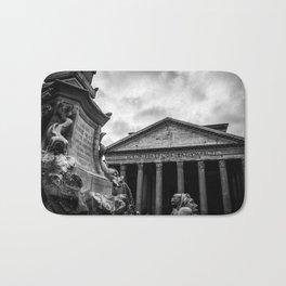 Clouds Over The Pantheon Bath Mat