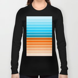 Retro lines Long Sleeve T-shirt