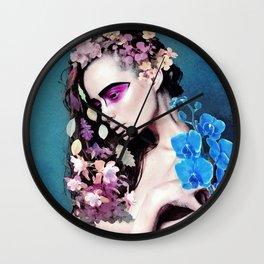 Depressed women Wall Clock