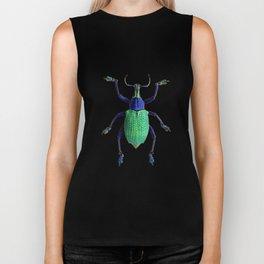 Eupholus Weevil Beetle Biker Tank