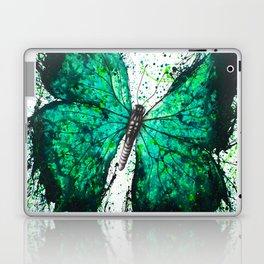 Night Garden Butterfly Laptop & iPad Skin