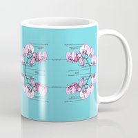 orchid Mugs featuring Orchid by Nahal