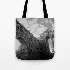 Corcomeroe Abbey Arch Tote Bag