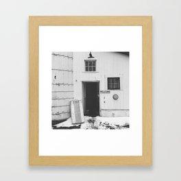 #welcome Framed Art Print