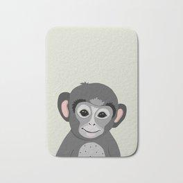 Monkey print Bath Mat