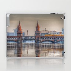 Berlin winter bridge Laptop & iPad Skin