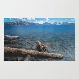 Crater Lake Love Rug