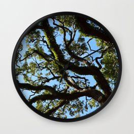 Branches in the Sky Wall Clock