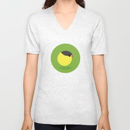 American goldfinch Unisex V-Neck